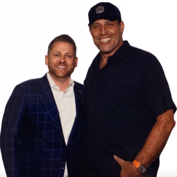 Dr. Kristofer Chaffin and Tony Robbins